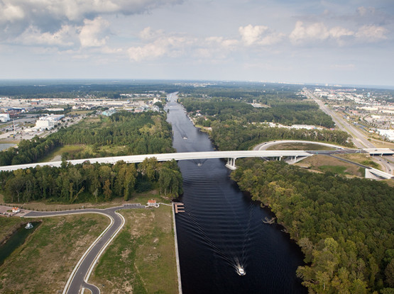 Fantasy Harbour Roadway and Bridge