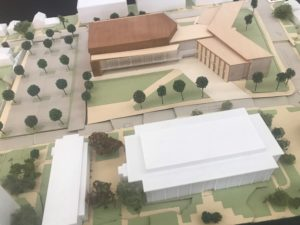 NCCU Student Center Model