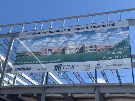 UNC Pembroke Topping Out